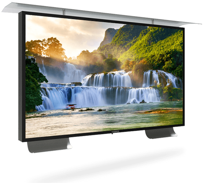 This Outdoor TV Comes With The Latest Technology.