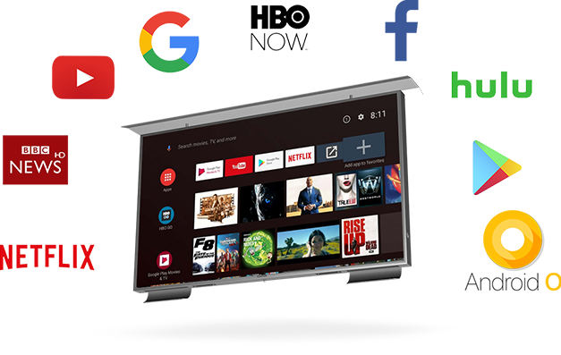Android Outdoor Smart TV Comes With The Latest Technology.